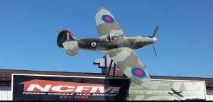 North Cobalt Flea Market Spitfire Plane